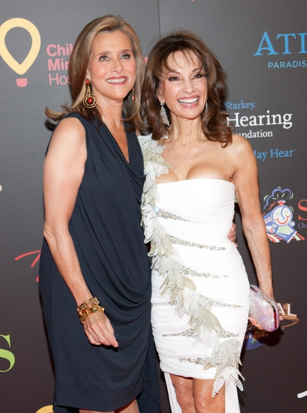 Meredith Vieira & Susan Lucci pictured at The 38th Daytime Emmy Awards at The Las veg Photo