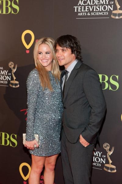 Dominic Zamprogna and Julie Berman pictured at The 38th Daytime Emmy Awards at The Las vegas Hilton in Las Vegas, NV on June 19, 2011. © RD/ Kabik/ Retna Digital
