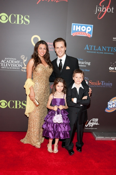 Jonathan Jackson and Lisa Vultaggio pictured at The 38th Daytime Emmy Awards at The Las vegas Hilton in Las Vegas, NV on June 19, 2011. © RD/ Kabik/ Retna Digital at 2011 Daytime Emmy Awards in Las Vegas!