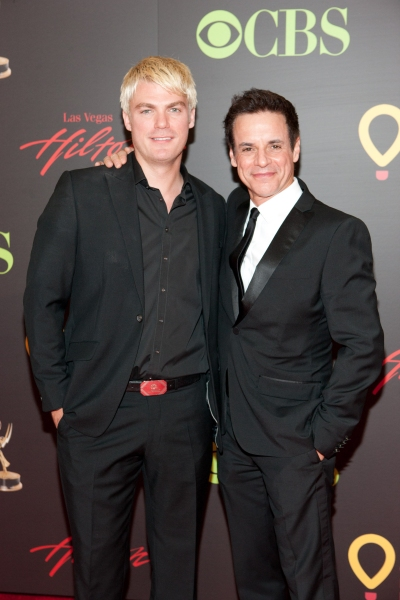 Jeff Branson and Christian LeBlanc pictured at The 38th Daytime Emmy Awards at The Las vegas Hilton in Las Vegas, NV on June 19, 2011. © RD/ Kabik/ Retna Digital