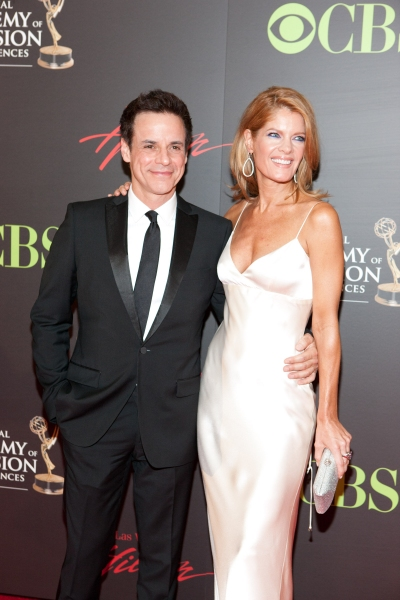 Christian LeBlanc and Michelle Stafford pictured at The 38th Daytime Emmy Awards at The Las vegas Hilton in Las Vegas, NV on June 19, 2011. © RD/ Kabik/ Retna Digital