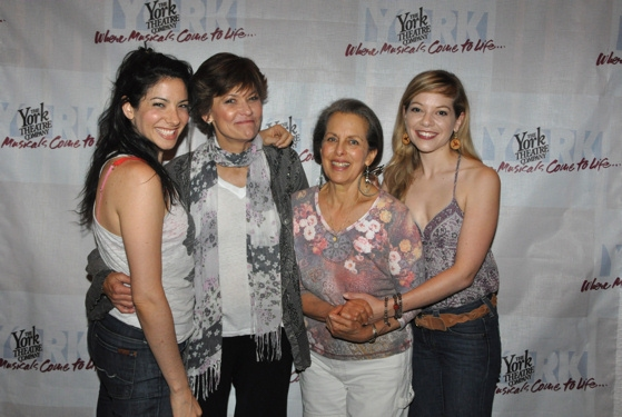 Lisa Birnbaum, Margot Rose, Betty Alberin and Jillian Louis