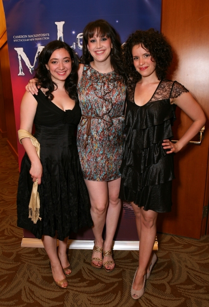 Julie Benko, Natalie Weiss and Briana Carlson-Goodman