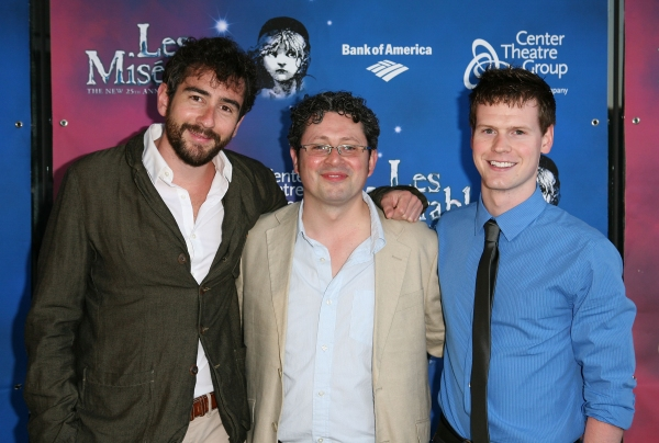 Associate Producer Thomas Schonberg, Director Laurence Connor and Resident Director Corey Agnew
