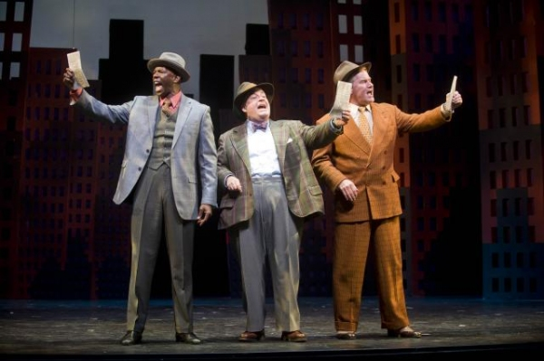 Correy West, Daniel Marcus and Timothy Shew at First Look at Barrington Stage Company's GUYS AND DOLLS