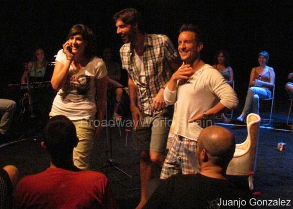 Sara Perez, Oscar Pineiro y Juan Bey