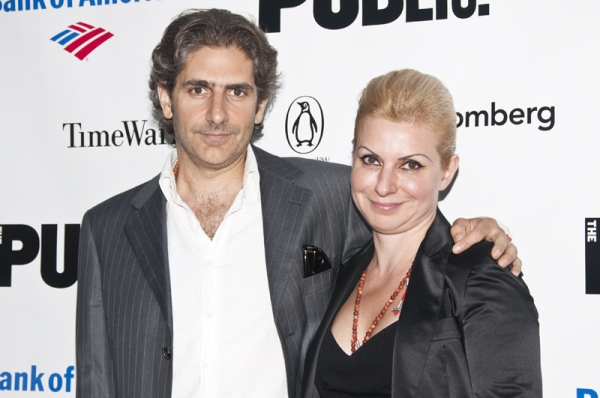 Michael Imperioli & Victoria Imperioli at Shakespeare in the Park Kicks Off with Celebratory Gala!