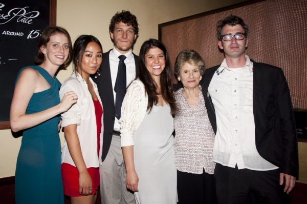 Amy Herzog, Greta Lee, Gabriel Ebert, Zoe Winters, Mary Louise Wilson & Daniel Aukin at Mary Louise Wilson Opens LCT's 4000 MILES