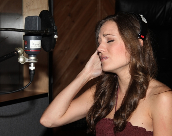 Photo Coverage: In the Recording Studio with Sutton Foster and ANYTHING GOES!