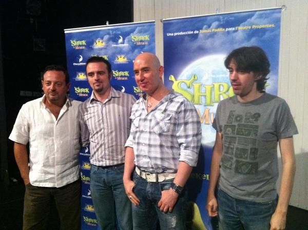 Tomas Padilla, Juanjo de la Fuente, Miguel Angel Gamero y Juanjo Molina