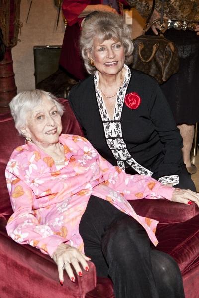 Celeste Holm and Loiuse Hirschfeld Cullman