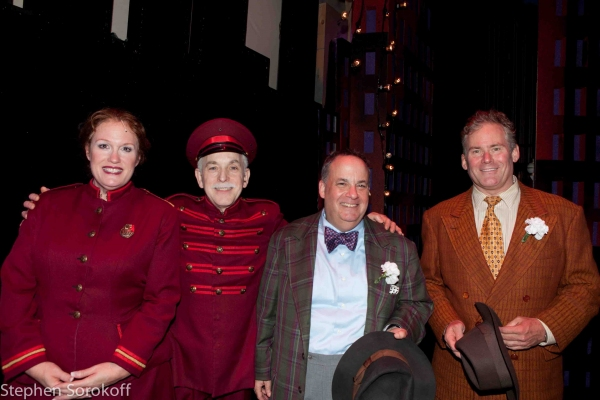 Peggy Pharr Wilson, Gordon Stanley, Daniel Marcus, Timothy Shew at Leslie Kritzer, Morgan James & More Open GUYS & DOLLS at Barrington Stage