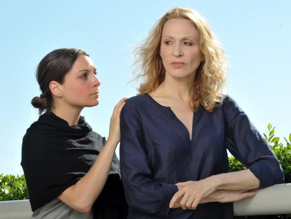 Michaela Lieberman as Cropper and Jan Maxwell
