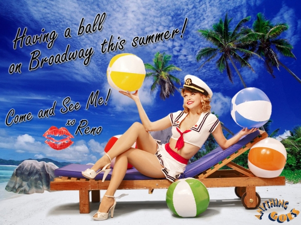 Photo Flash: ANYTHING GOES' Reno Sweeney Welcomes Summer!