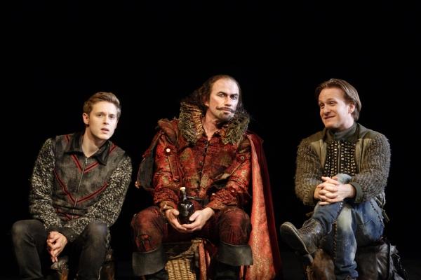 Samuel Barnett, Chris Andrew Mellon and Jamie Parker