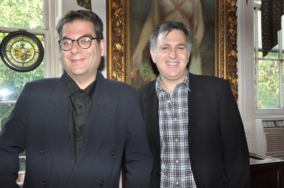 Michael Musto and Jesse Green