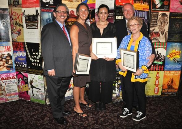 Peter Breger, Laura Callanan, Mia Yu, Marshall Mason and Tanya Berezin Photo