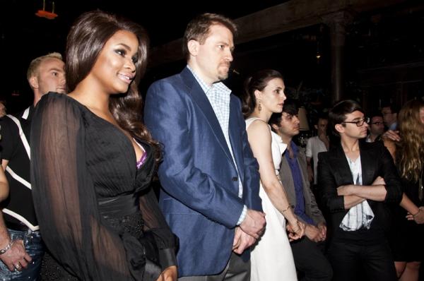 Nyasha Zimucha, Leslie Ziff & Christian Siriano Photo