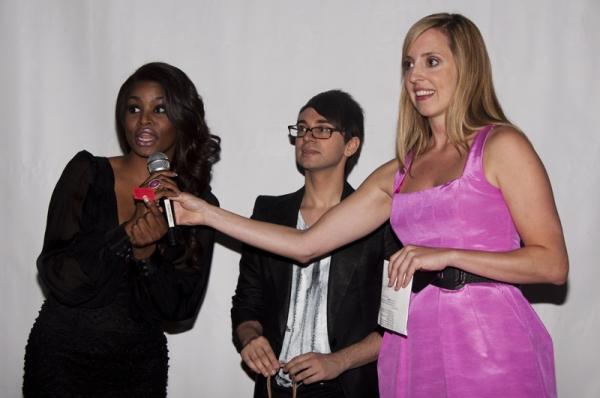 Nyasha Zimucha, Christian Siriano & Elizabeth Clinard