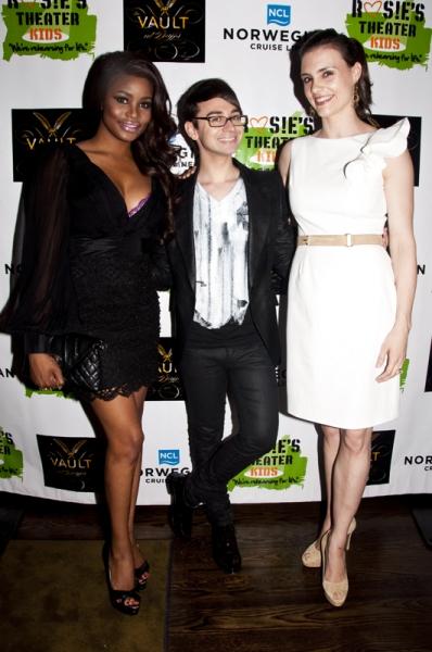 Nyasha Zimucha, Christian Siriano & Leslie Ziff Photo