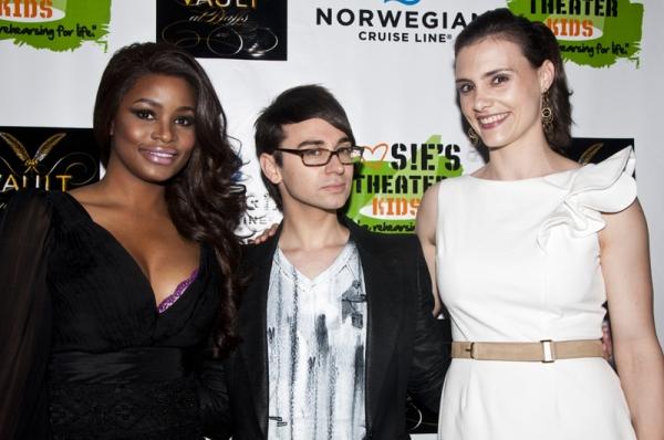 Nyasha Zimucha, Christian Siriano & Leslie Ziff