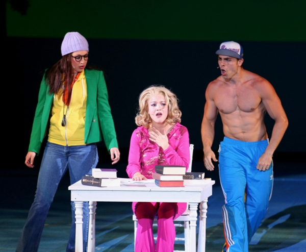 Michelle Rombola, Lauren Ashley Zakrin and Colt Prattes at Muny's LEGALLY BLONDE Production Photos!