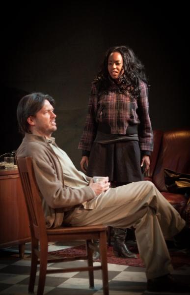 Brad Woodard (Frank) and Whitney White (Rita)
