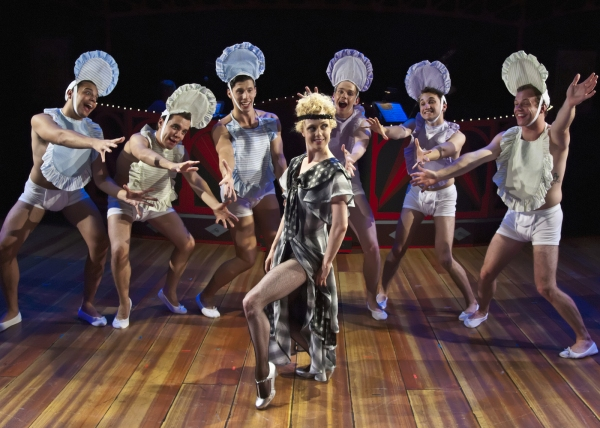 "Charlotte Fox as Roxie Hart with her ""babies"" performing ""Me and My Baby"""