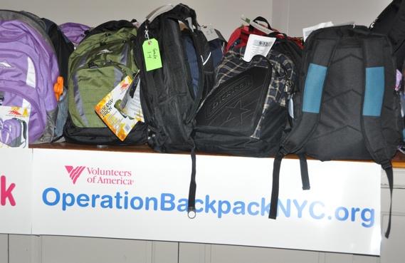 Photos: Paige Davis Hosts Operation Backpack for Underprivileged Children