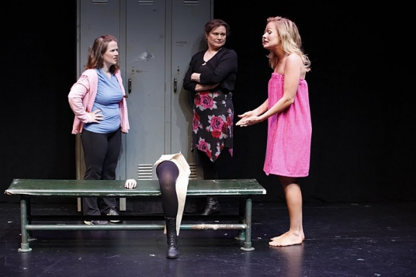 Mary Theresa Archbold (Ginger), Anita Hollander (Rose) and Tiffan Borelli (Gorgeous) in Bekah Brunstetter's GORGEOUS
