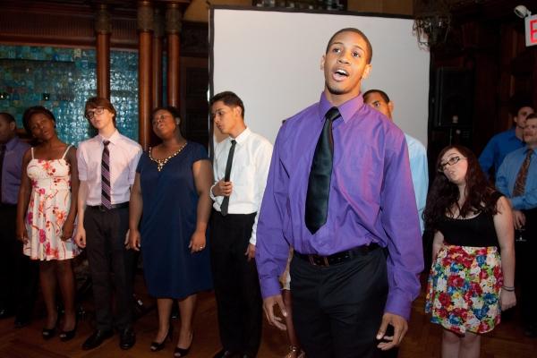 Photo Flash: Arts in Education Roundtable Honors David Shookhoff