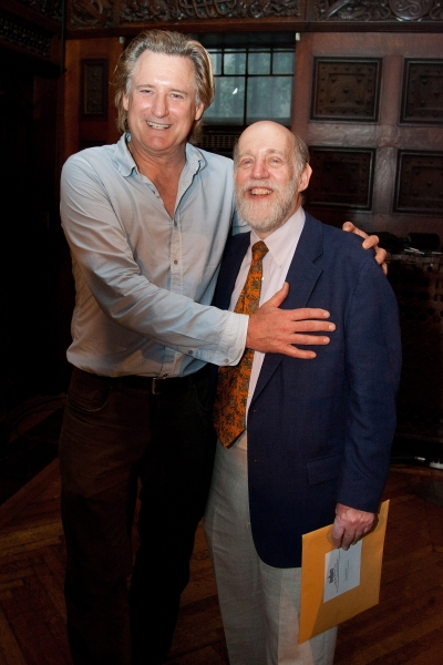 Host Bill Pullman with honoree David Shookhoff