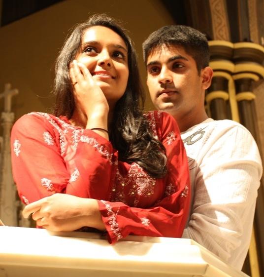 Vandit Bhatt as Romeo and Poonam Basu as Juliet