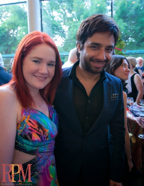 BWW's Kelly Cameron and Q's Jian Ghomeshi at The National Ballet of Canada's MAD HOT WONDERLAND