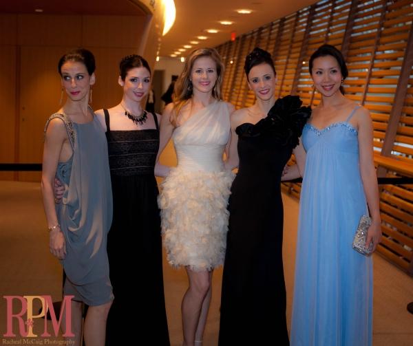 Principal Dancers Sonia Rodriguez, Bridgett Zehr, Heather Ogden, Greta Hodgkinson and Xiao Nan Yu