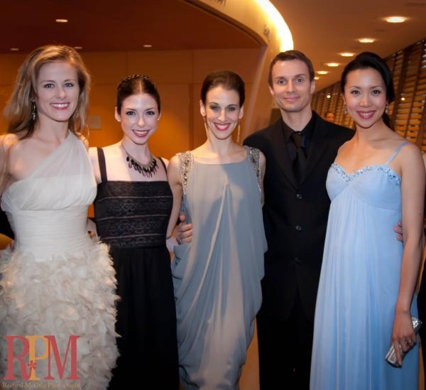 Principal Dancers Heather Ogden, Bridgett Zehr, Sonia Rodriguez, Aleksandar Antonijevic and Xiao Nan Yu