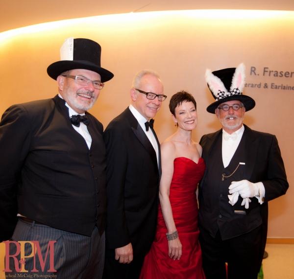 Robert Brews, Ross Petty, Karen Kain and Ken Brown