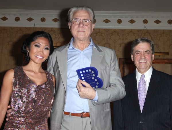 Julie Chang & John Larroquette & Michael Presser attending the Inside Broadway  2011 Broadway Beacon Awards at The Players Club in New York City.