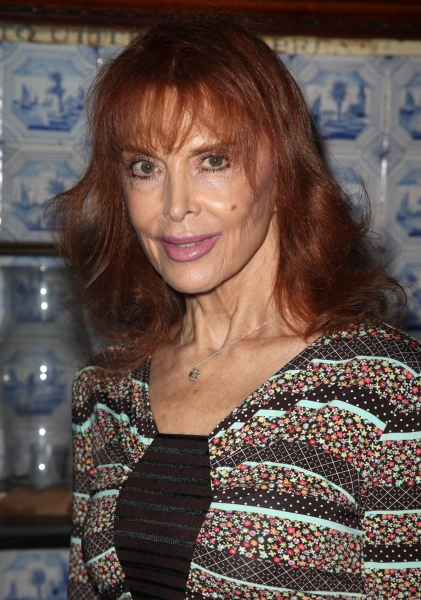 Tina Louise attending the Inside Broadway  2011 Broadway Beacon Awards at The Players Photo