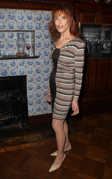 Tina Louise attending the Inside Broadway  2011 Broadway Beacon Awards at The Players Club in New York City.