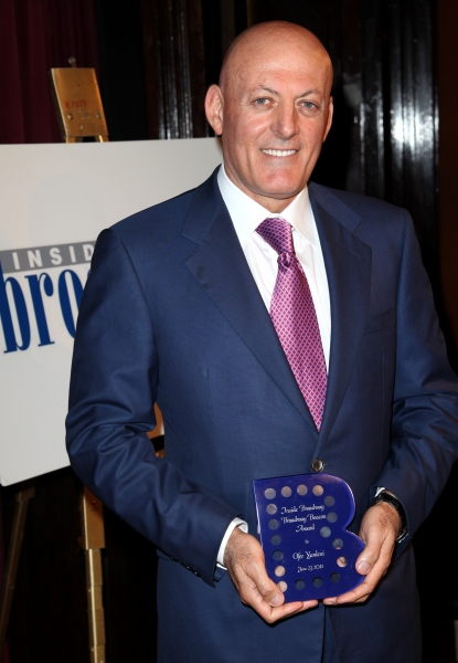 Ofer Yardeni attending the Inside Broadway  2011 Broadway Beacon Awards at The Players Club in New York City.