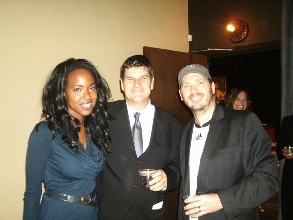 "Whitney White (â€Å""Ritaâ€Â�), left; Richard Corley (Director), middle; and Brad Woodard (â€Å""Frankâ€Â�)"
