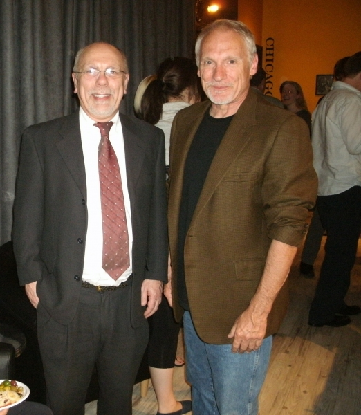 Roger Smart (Artistic Director), left; and Doug McDade (Managing Director)