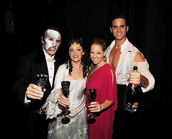 Anthony Crivello, Kristi Holden, Kristen Hertzenberg and Andrew Ragone