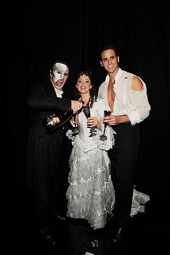 Anthony Crivello, Kristi Holden and Andrew Ragone