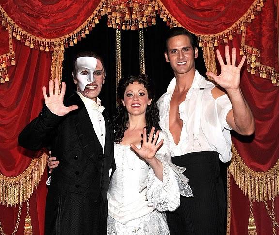 Anthony Crivello, Kristi Holden and Andrew Ragone Photo
