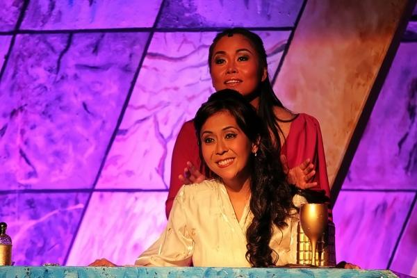 Ima Castro and Rachel Alejandro
