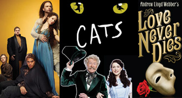 JESUS CHRIST SUPERSTAR, THE WIZARD OF OZ & LOVE NEVER DIES to Broadway? CATS Back to London?