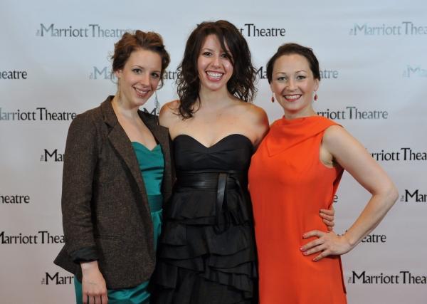 Jessie Mueller, Brooke Jacobs, Tammy Mader