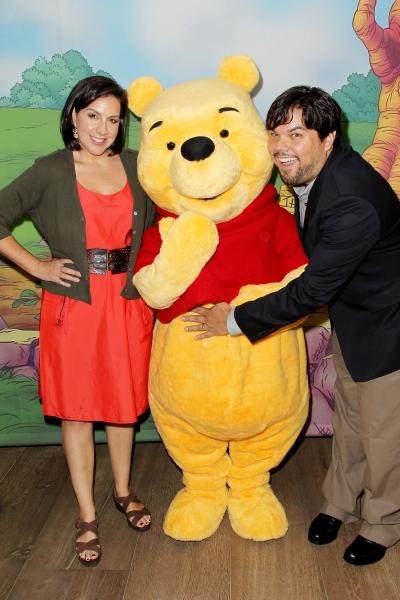 Bobby Lopez & Kristen Anderson-Lopez at Robert Lopez, Kerry Butler, Edie Falco et al. Attend WINNIE THE POOH Premiere!